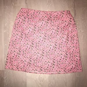 Chaus Pink Flower Skirt